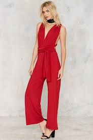 gal jumpsuit lyst gal all low halter jumpsuit in