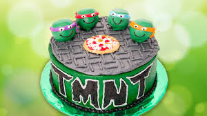 tmnt cake mutant turtles cake from cookies cupcakes and cardio