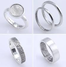 fingerprint wedding bands the 25 best fingerprint wedding bands ideas on