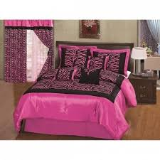 Pink Zebra Comforter 36 Best Black And Pink Bedding Images On Pinterest Bedding Sets