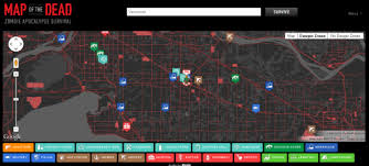 map of the dead browser beta