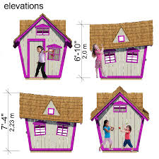 Whimsical House Plans by Crooked Playhouse Floor Plans Pdf Cubby House Ideas Pinterest