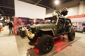 military jeep front our five favorite jeep wranglers at the 2014 sema show