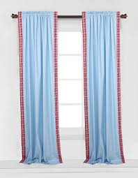 Gingham Curtains Blue Striped Curtain Panels Plaid Curtains Gingham Curtains Bacati