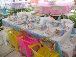 ideas for birthday outdoor party decoration backyard birthday