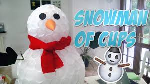 plastic cup snowman all about plastic 2017