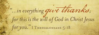 2012 we are thankful the gideons international