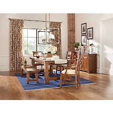 tuscan dining room table tuscany dining collection casual dining art van furniture