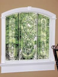 Privacy For Windows Solutions Designs Corbette Design Stainedglass Window Traditional Pattern