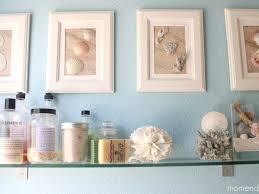 Beach Decorating Ideas Bathroom 49 2b Navy Blue Seashells Display Bathroom Beach Decor