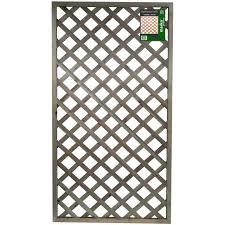 rigid lattice pattern garden trellis 90cm wide x 180cm high panels