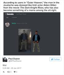 The Dark Knight Rises Meme - aidan gillen has accidentally become part of a bizarre alt right meme