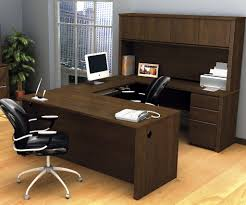 u shaped desk with hutch for large room u2014 all home ideas and decor