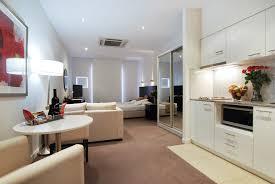 brick wall studio apartment by stephan jaklitsch gardner open plan