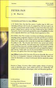 peter pan barnes u0026 noble classics series barrie