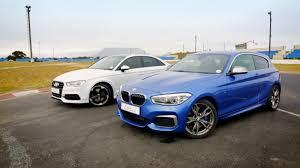 bmw vs audi race drag race bmw m135i vs audi s3 sedan cars co za