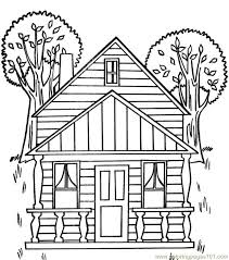 houses coloring pages printable coloring pages tree house