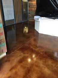 Wicked Laminate Flooring Stained Concrete Floor For Wicked Taco In Blacksburg Va Stained