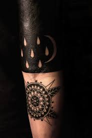 black half sleeve and dark mandala body mods pinterest