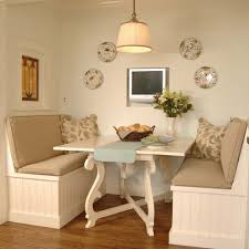 white breakfast nook home nook ideas white kitchen with marble