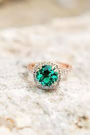 flower engagement ring vintage flower engagement ring setting emerald engagement ring emerald ring