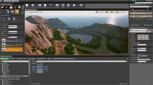 unreal engine 4 auto terrain texturer v2 plugin youtube