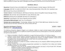 Scm Resume Format 100 Scm Resume Download Sharepoint Developer Resume