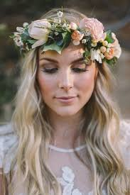 hair flower top 10 boho inspired hairstyles for your wedding day top inspired