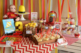 curious george party ideas the howard family kennedie s curious george party party
