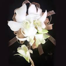 white dendrobium orchids white dendrobium orchid corsage and boutonniere orchids