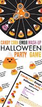 Printable Halloween Game by Candy Corn Emoji Mash Up Halloween Party Game 730 Sage Street