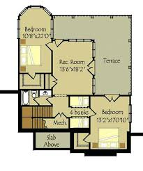 walkout basement plans floor plans for small cottages 2 bedroom walkout basement floor plan