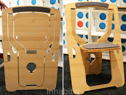Diy Folding Chair Storage Monstrans U0027 Single Sheet Bamboo Chair Folds Flat For Easy Storage