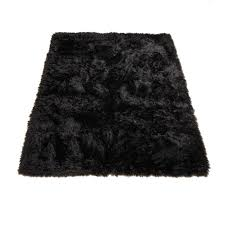 faux fur rugs for western and lodge theme decor