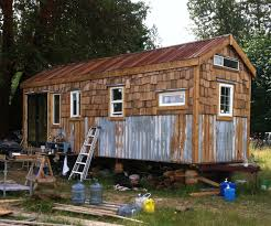 Backyard Tiny House Roll Cabin Rolling Out U2026another Owner Built Tiny House Project