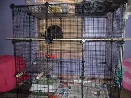 How To Build An Indoor Rabbit Hutch How To Build An Indoor Bunny Cage A 3 Level Rabbit Condo With Open