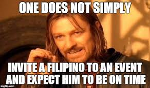 Filipino Meme - filipino time imgflip