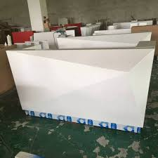 online buy wholesale wooden reception counter from china wooden