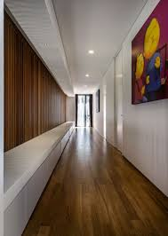 Contemporary Home Interior Designs by Mimosa Road By Park Associates Pte Ltd Wooden Flooring