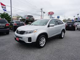 used certified one owner 2015 kia sorento lx vineland nj rk kia