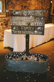 wedding seating signs alternatives to a seat not a side signs planning it all