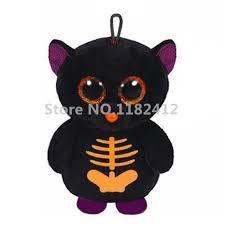 cute beanie halloween fangs the bat plush stuffed animals big eyes