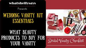 bridal makeup products wedding makeup bag wedding makeup kit product list indian