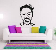 compare prices on mirror funny online shopping buy low price art special desinged portait wall decals home rooms art decoration wall stickers man face pattern funny