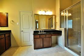 makeup vanity with sink single sink vanity with makeup area home design ideas regarding