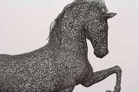 mustang horse drawing free images monument statue stallion sculpture art drawing