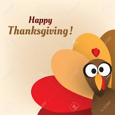happy thanksgiving card design template royalty free cliparts