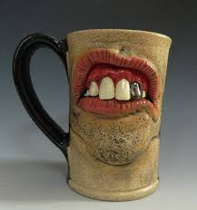 backwoods dental mug with chrome tooth for sale by thebigduluth