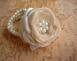 Wrist Corsage Supplies Corsage Bracelet Etsy