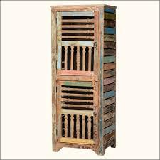 kitchen unusual distressed reclaimed wood kitchen storage cabinet